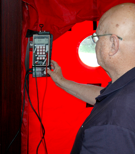 Pro Energy Consultants Door Blower Testing